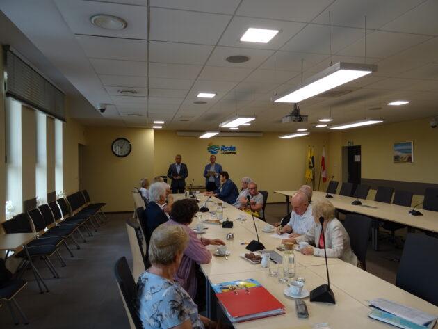 Inauguracyjne posiedzenie Redzkiej Rady Seniorów II kadencji