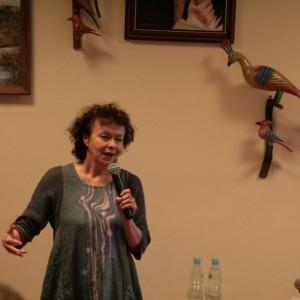 Joanna Szczepkowska w Redzie