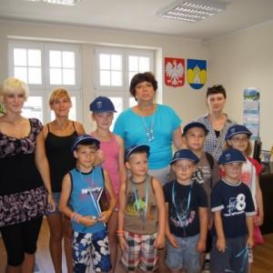 Wakacyjna wizyta dzieci w Urzędzie