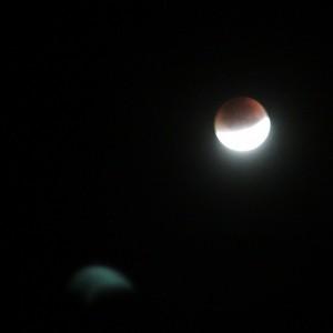Zaćmienie Księżyca nadRedą
