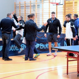 Zwycięstwa tenisistów stołowych