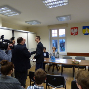 Inauguracja Młodzieżowej Rady Miejskiej