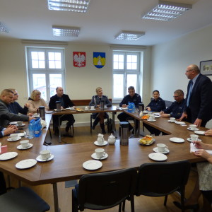Spotkanie z przedstawicielami Policji