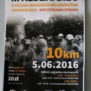 III Bieg Redzki 5 VI 2016 r.