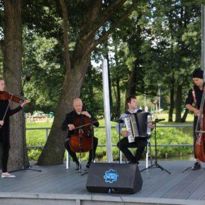 Buskers Quartet  w Miejskim Parku Rodzinnym