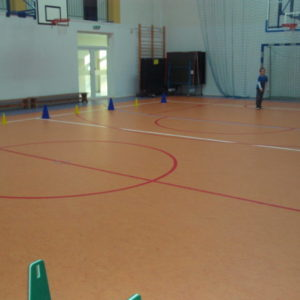 Koniec remontu posadzki sali gimnastycznej wSP nr5