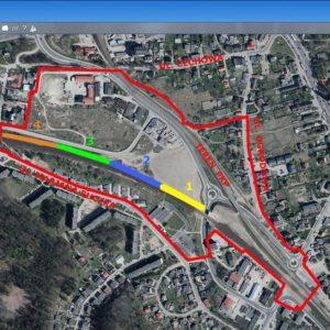 Lokalizacji nowego przystanku SKM