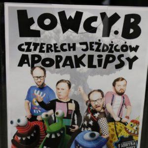 """Kabaret Łowcy.B ponownie w""""Fabryce Kultury"""""""