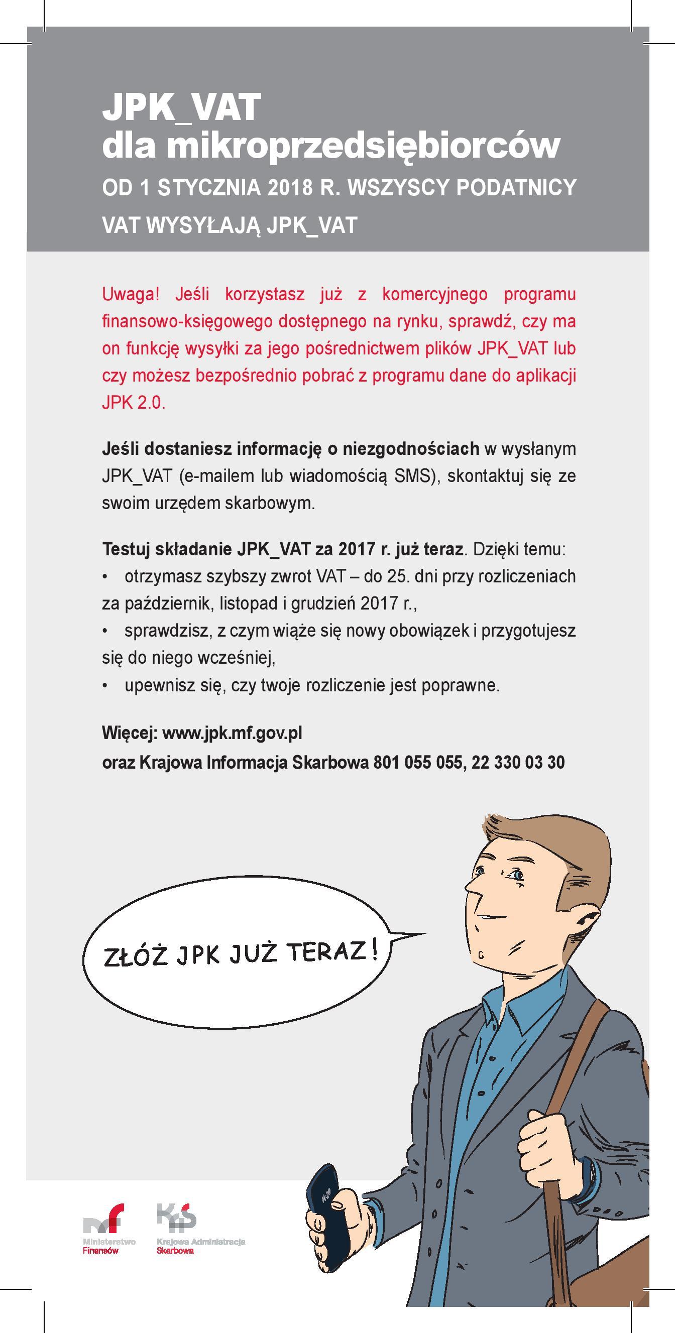 Szkolenia z JPK dla mikroprzedsiębiorców