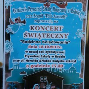 """Koncert Świąteczny """"Rodzinne Kolędowanie"""""""