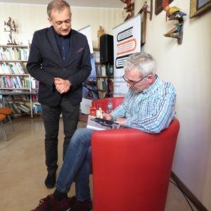 Udane spotkanie zRobertem Janowskim