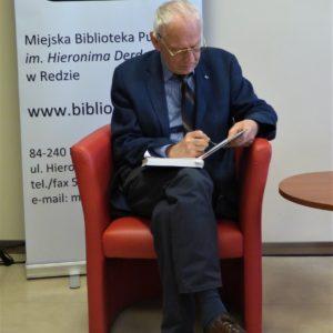 """""""Życie się kończy, gdy przestaje się w życiu czekać"""" – spotkanie z Leszkiem Długoszem w MBP"""