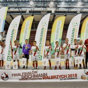 Młodzi piłkarze wrócili zWałbrzycha