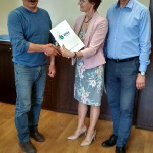 Rozstrzygnięto przetarg narealizację budowy III etapu ul.Wiśniowej iul.Kasztanowej wRedzie!