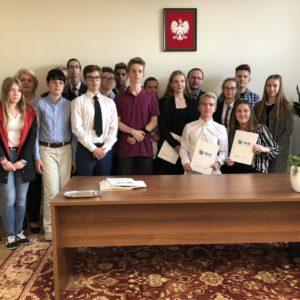 Inauguracja IV kadencji Młodzieżowej Rady Miejskiej