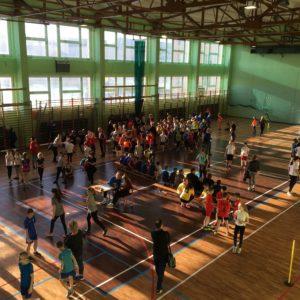 V Mistrzostwa Powiatu Wejherowskiego Szkół Podstawowych  wHalowej Lekkoatletyce klas III-IV