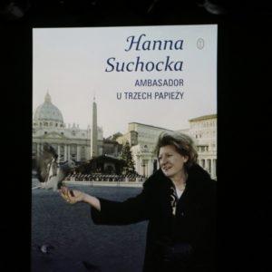 Relacja zBiesiady Literackiej zHanną Suchocką