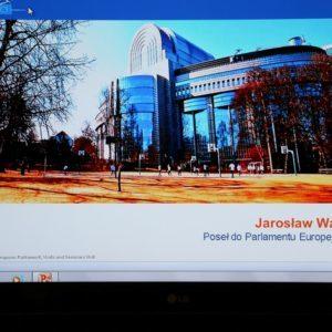 Spotkanie zeuroposłem Jarosławem Wałęsą