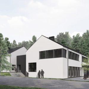 Projekt rozbudowy Szkoły Podstawowej nr5 wRedzie.