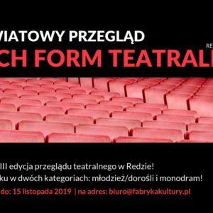 Zanami XVIII Powiatowy Przegląd Teatralny