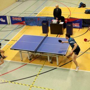 Udany weekend tenisistów stołowych