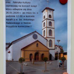 Miejski Chór Kameralny wkościele św.Antoniego Padewskiego