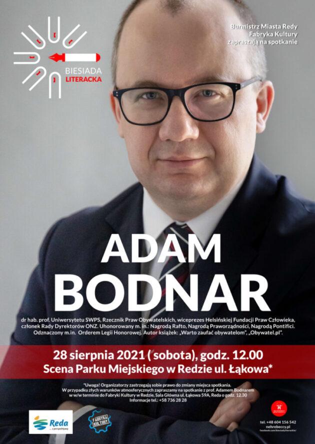 Biesiada Literacka – spotkanie z Adamem Bodnarem!